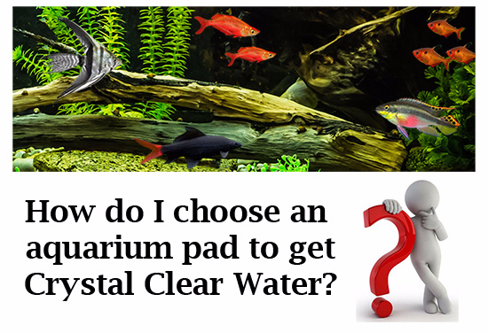How do I choose the right Aquatic Experts Aquarium Filter Pad?