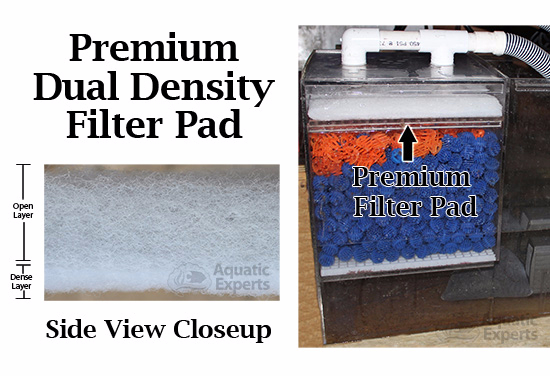 Aquatic Experts Aquarium Premium Dual Density Filter Pad