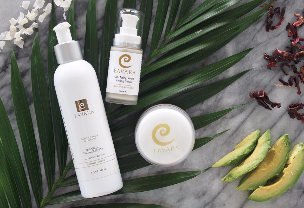 Eavara skin care organic anti-aging formula