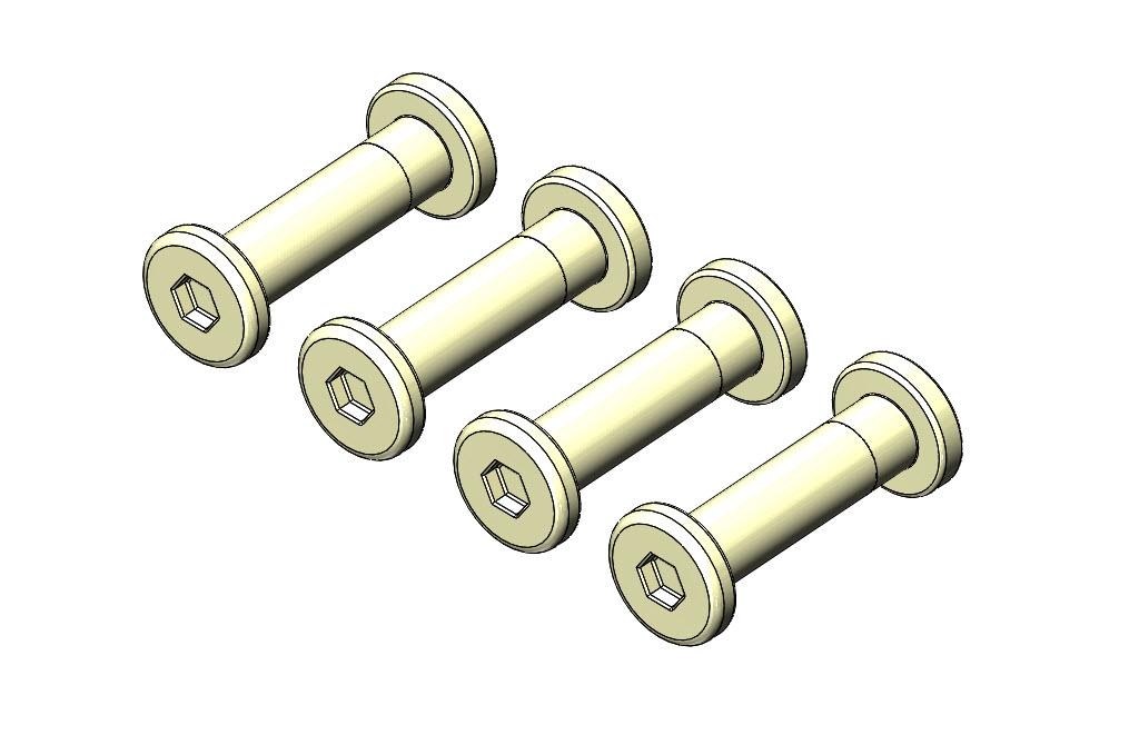 Hills Chicago Bolts 24mm Pack 4 FD903576