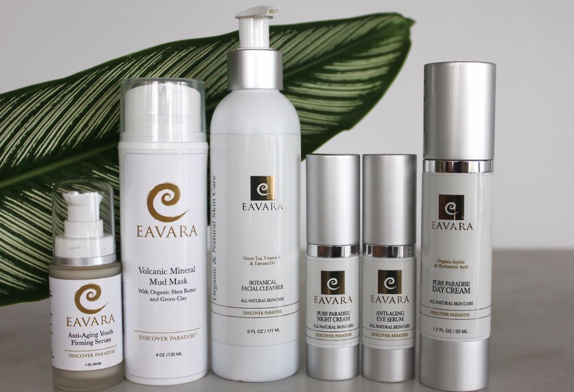 Eavara skin care line