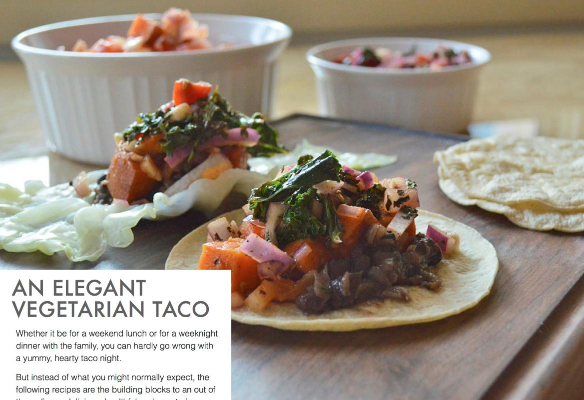 Chef Jackson's Vegetarian Taco Mealtime