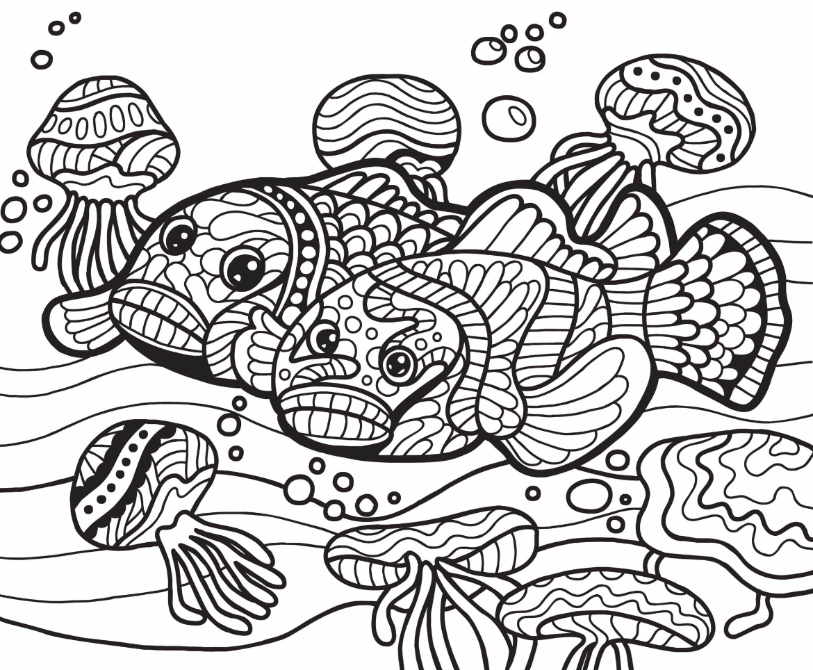 Free Coloring Page 2