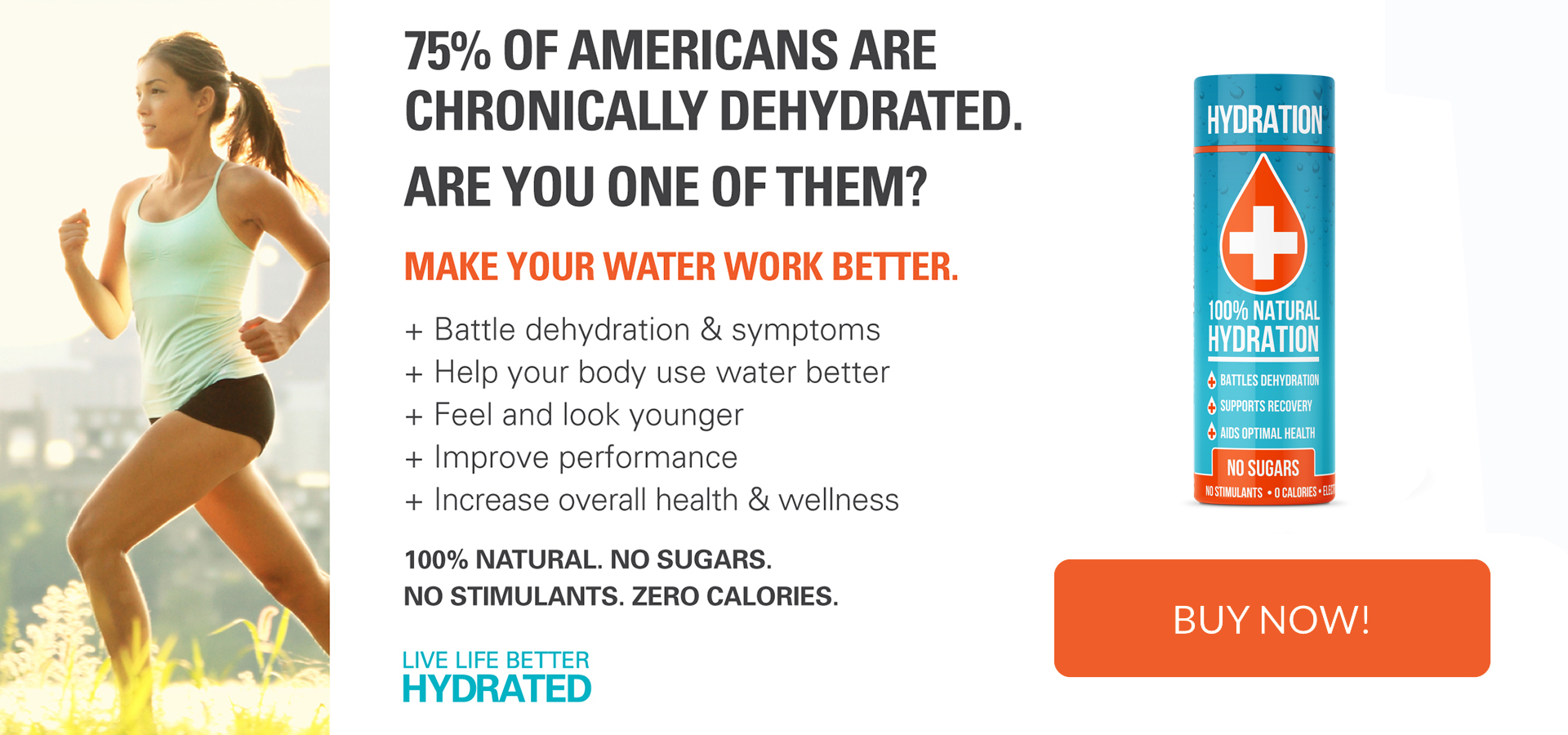75% of Americans Are Chronically Dehydrated