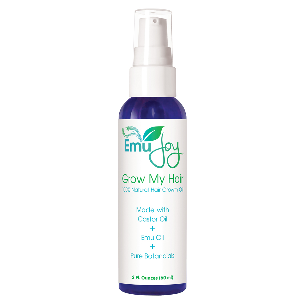 Emu Joy pure emu oil can help with hair loss