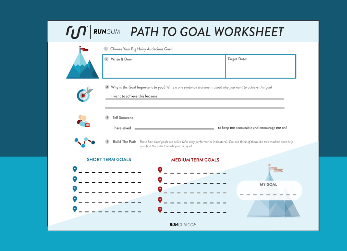 Build The Path Goal Setting Worksheet