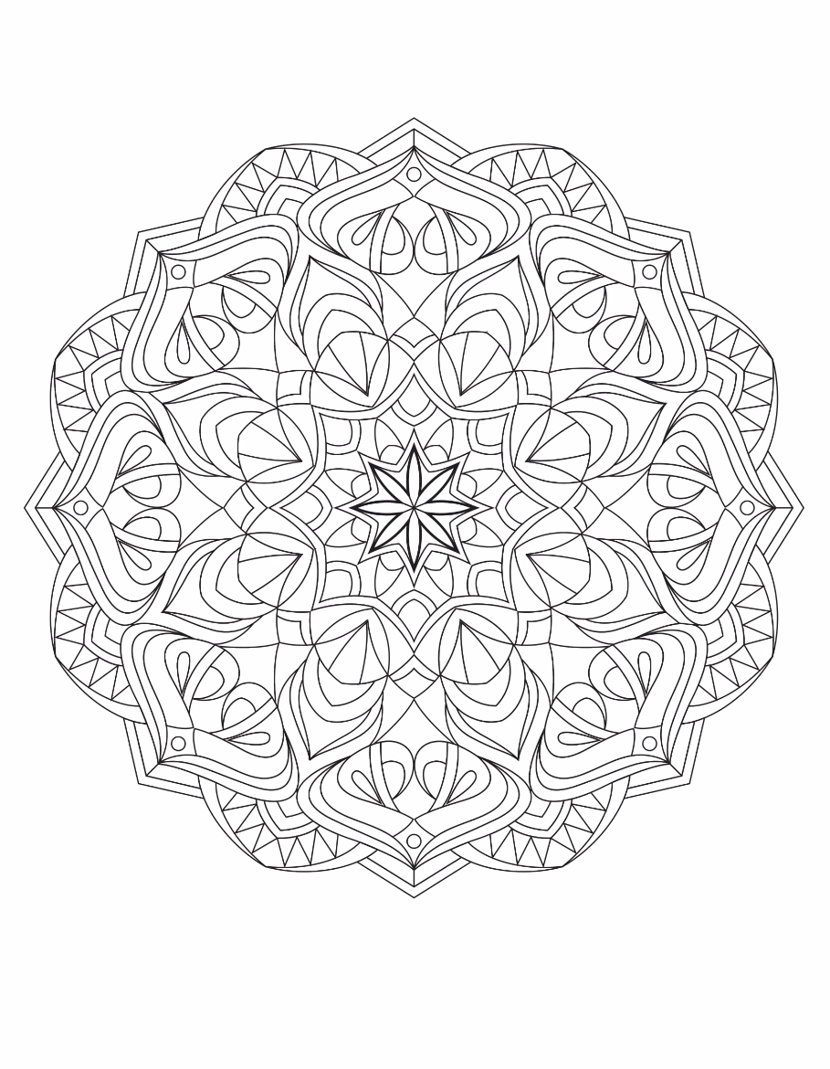 Mandalas Drawing 2