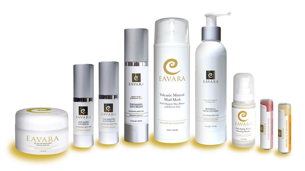 Eavara skin care organic skin care line