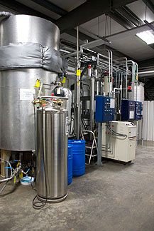 Emu oil refining facility