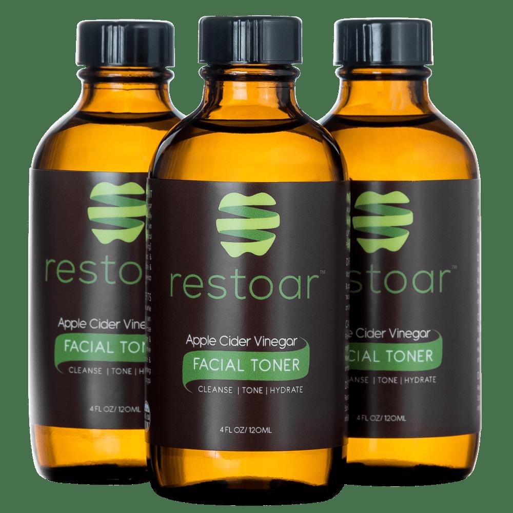 RESTOAR Apple Cider Vinegar Facial Toner