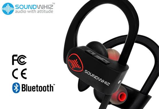 SoundWhiz Turbo Running Headphones