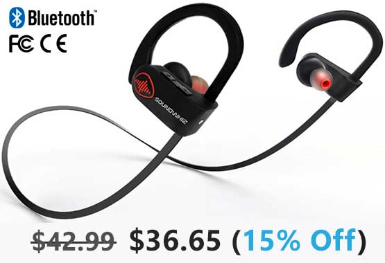 SoundWhiz Turbo Bluetooth Headphones