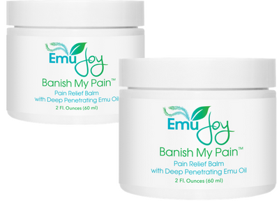 Banish My Pain 2 jars