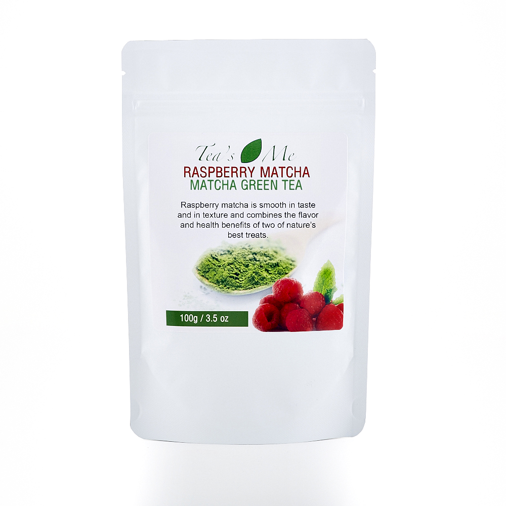 Raspberry Matcha Green Tea