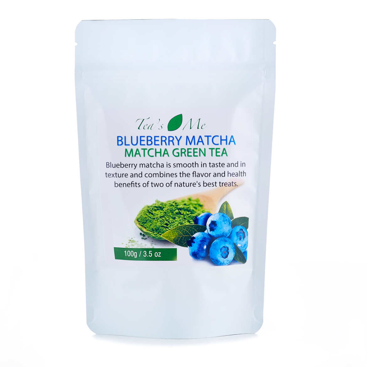 Blueberry Matcha Green Tea