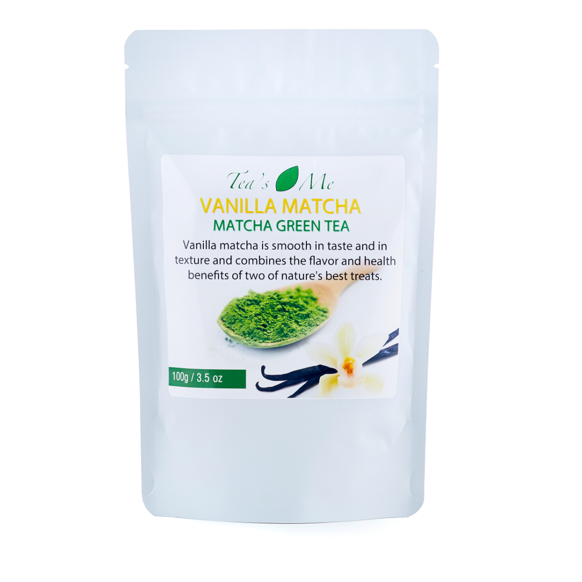 Vanilla Matcha Green Tea