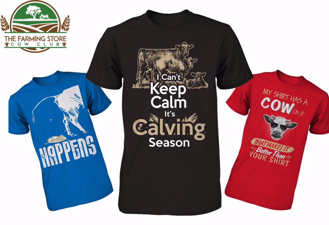cow club t-shirt
