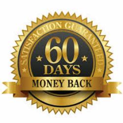 60 money back guarantee