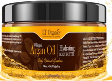 Whipped Argan Oil Body Butter