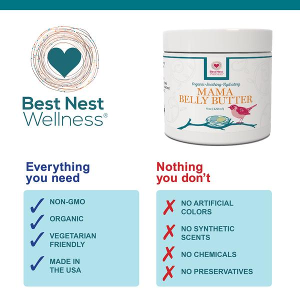 Best Nest Mama Belly Butter Features