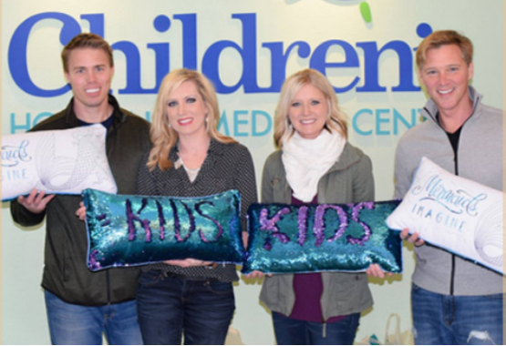 Mermaid Pillows - Children's Hospital
