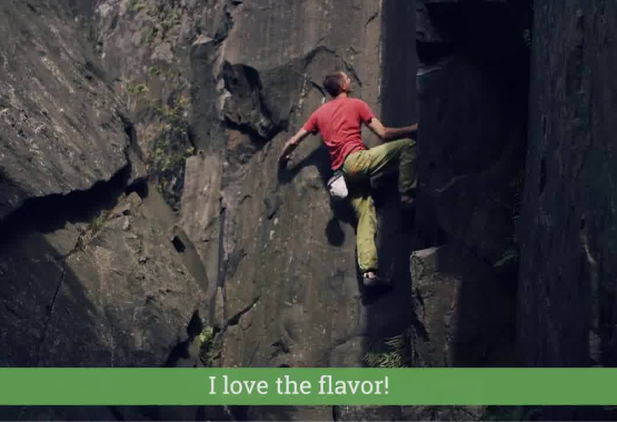 Ambronite Supermeal climbing