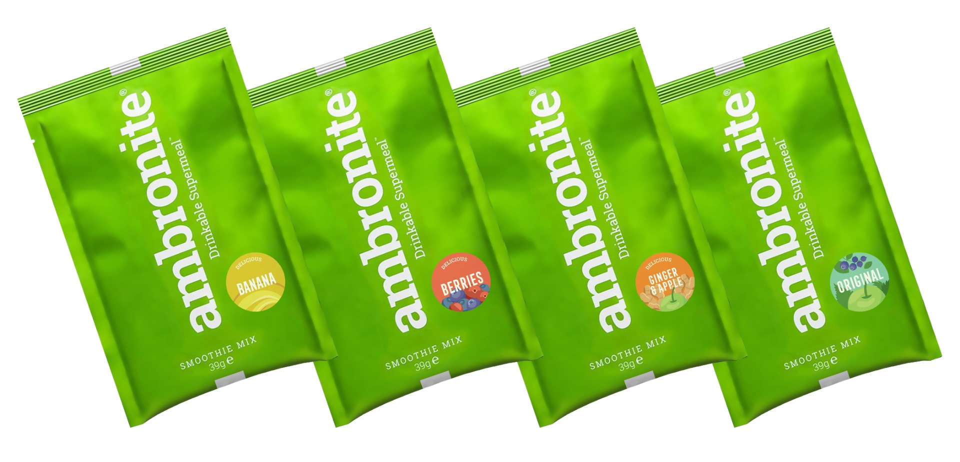 Ambronite Supermeal 4x165 sample pouch