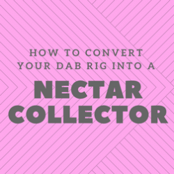 How to convert your dab rig into a nectar collector