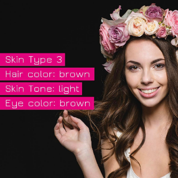 Fitzpatrick Skin Type 3 for permanent makeup and microblading Buypermanentmakeup.com