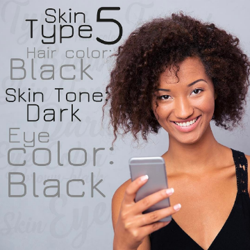 Fitzpatrick Skin Type 5 for permanent makeup and microblading Buypermanentmakeup.com