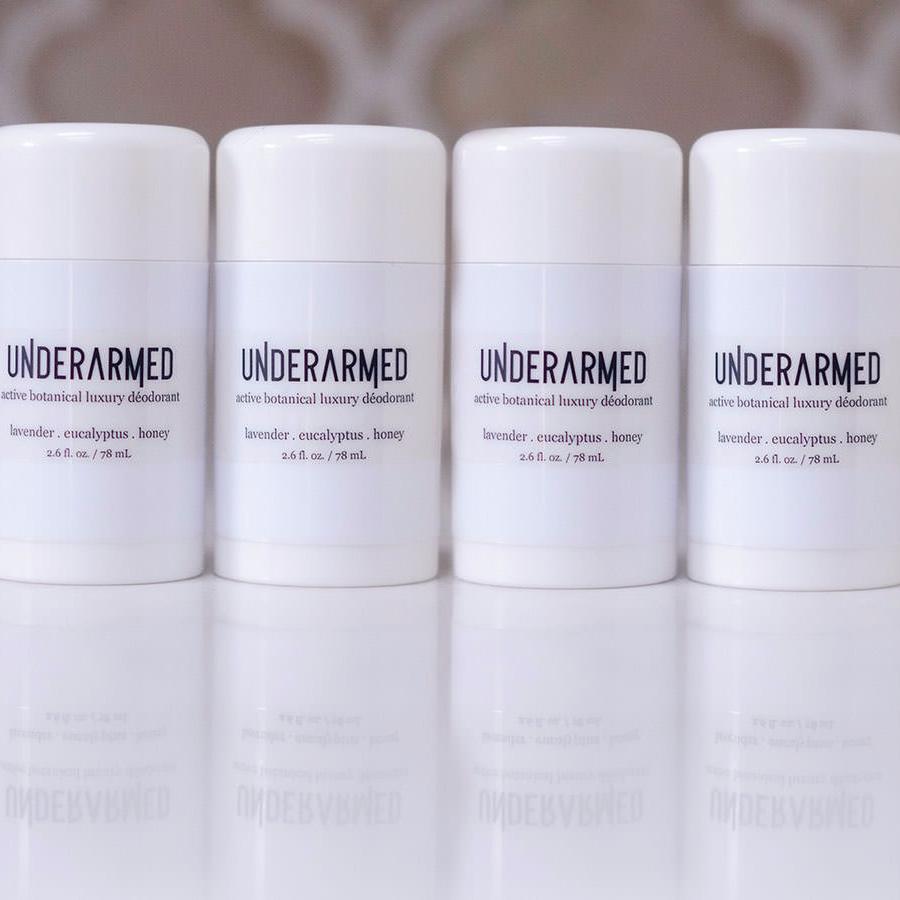Underarmed - Aluminum-Free Natural + Organic Deodorant (Four Pack / 4 x 2.6 oz)