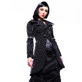 Victorian Corporate Style jacket in pinstripe