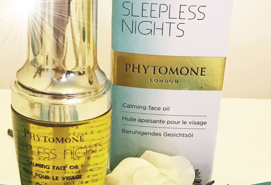 PHYTOMONE LONDON SKIN CARE SLEEPLESS NIGHTS CALMING FACE OIL