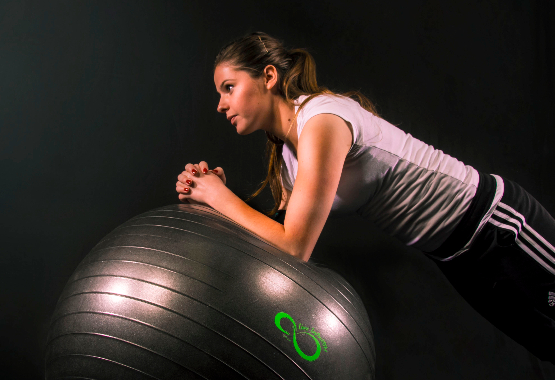gym ball exercises for stomach