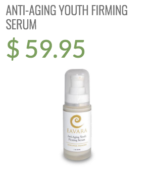 anti aging youth firming serum eavara natural and organic skin care
