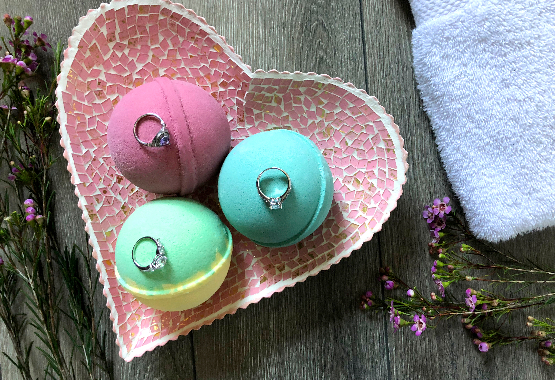 Jackpot Candles Bath Bombs with Rings Valued up to $5K