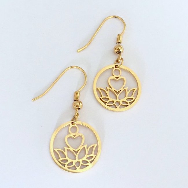 Love Lotus Earrings