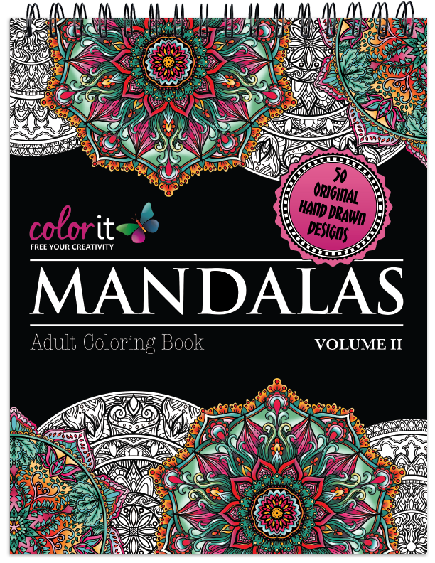 This Coloring Page Is From Our Mandalas Volume 2 Book 1 Was One Of Most Popular Books To Date