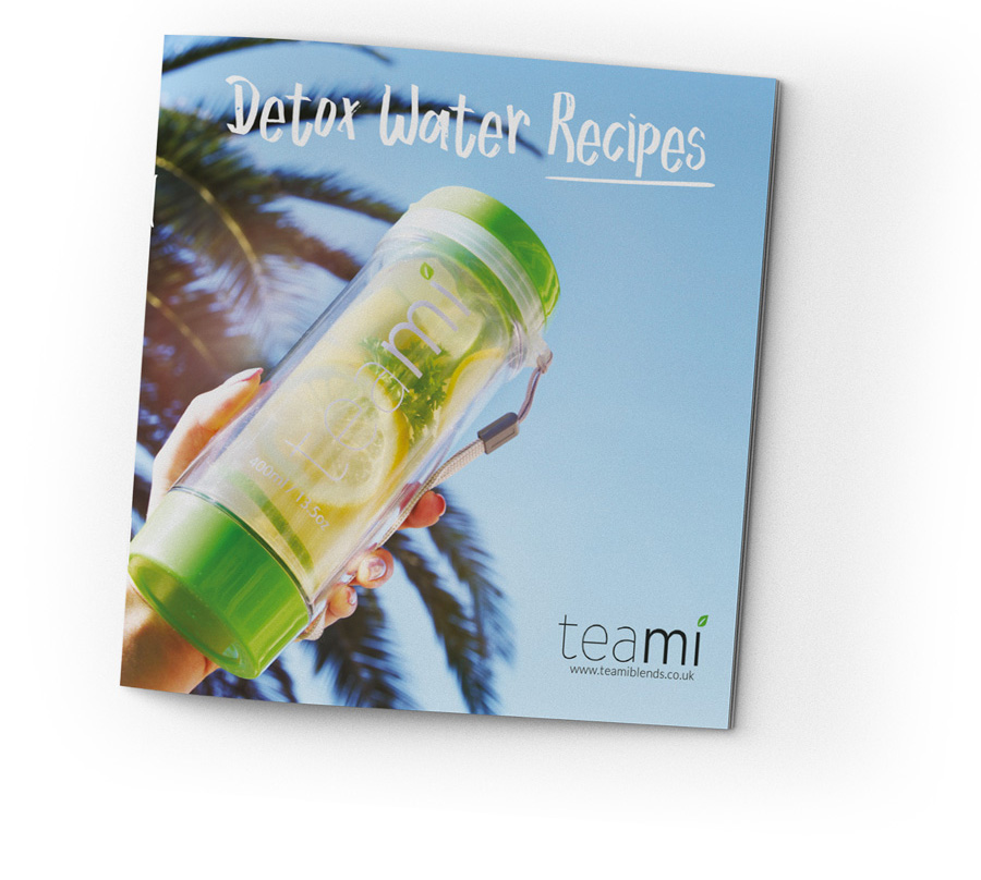 Teami Detox Water Recipe Book