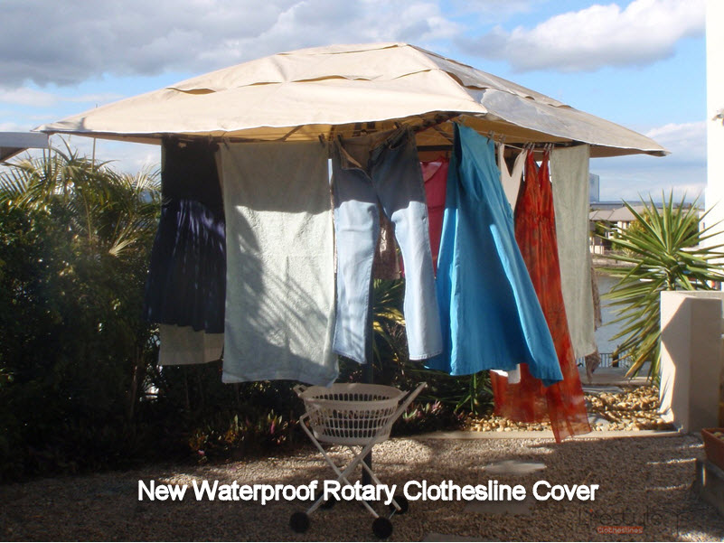 waterproof rotary clothesline cover