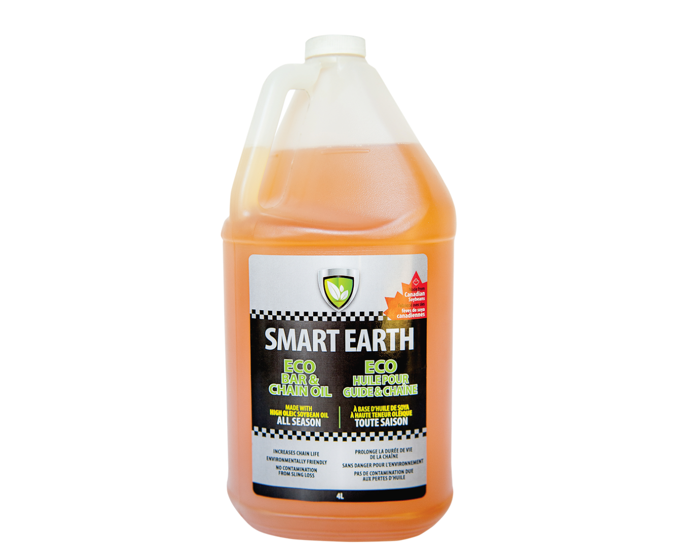 Smart Earth Bar and Chain Oil 4L Product Image
