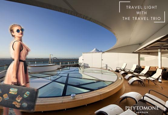travel trio by Phytomone Skin care