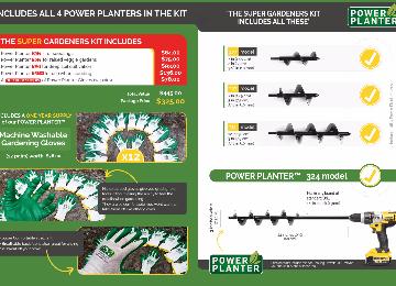 Super Gardeners Kit Deal