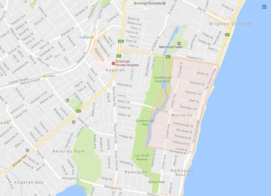 Clotheslines Monterey 2217 NSW