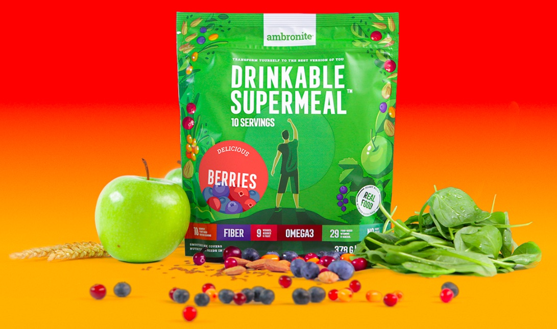 Ambronite Supermeal 1600kcal Berries
