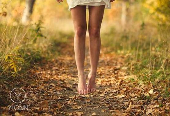 Mooie benen in de herfst