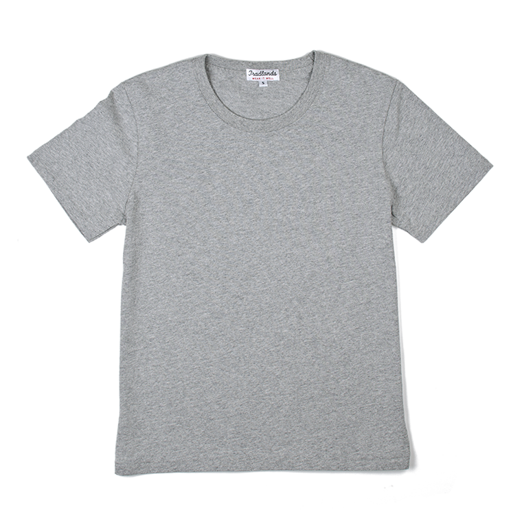 Buy T-Shirts for Women Online | The Catt Heather Grey