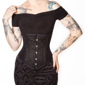 The Arabesque, extremely versatile corset for corporate wear