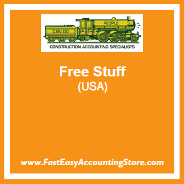 Free Resources Provided By Fast Easy Accounting For USA Contractors