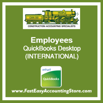 Employees QuickBooks Setup Desktop Template International